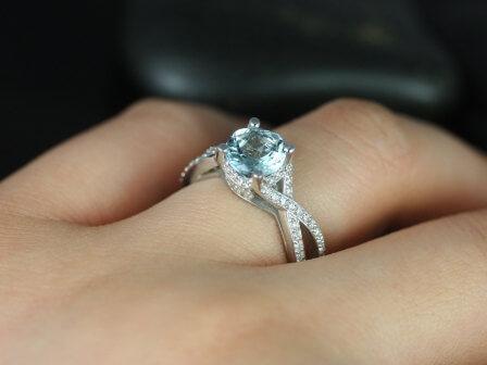 Aquamarine Wedding Bands 33 Luxury Aquamarine engagement ring hardness